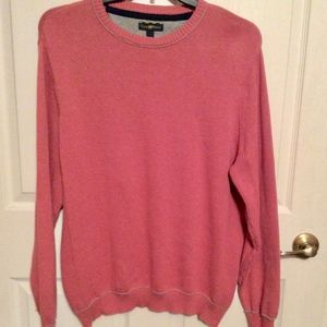 Sweater Pullover LongSleeve Crew Neck Club Room L